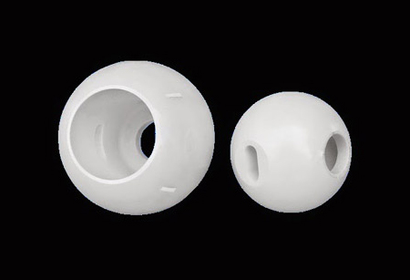 ceramic ball valve parts