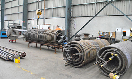 Boiler Coils, Pipe Bends