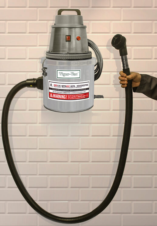 Cleaning Station Vacuum