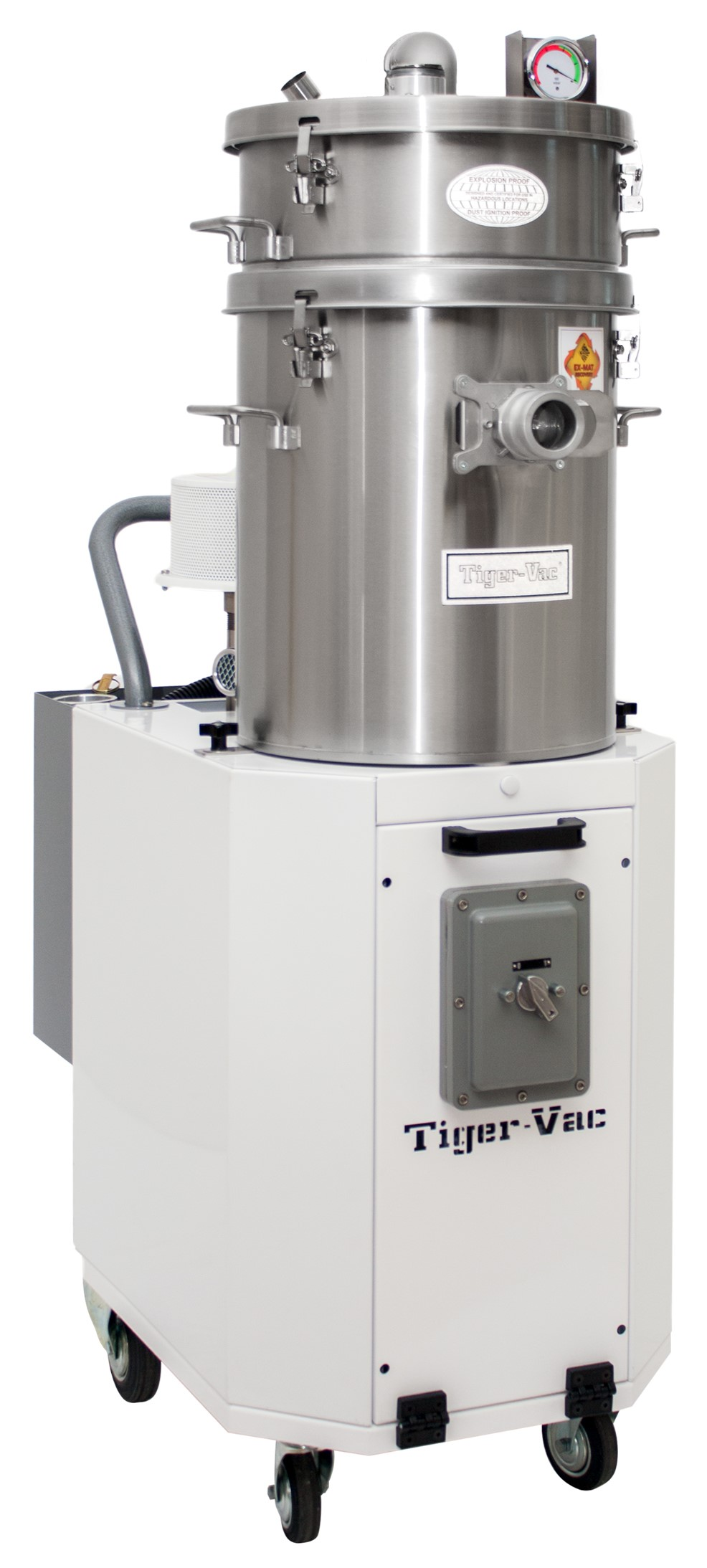 Cleanroom Vacuum with MRPFT Cont. Duty