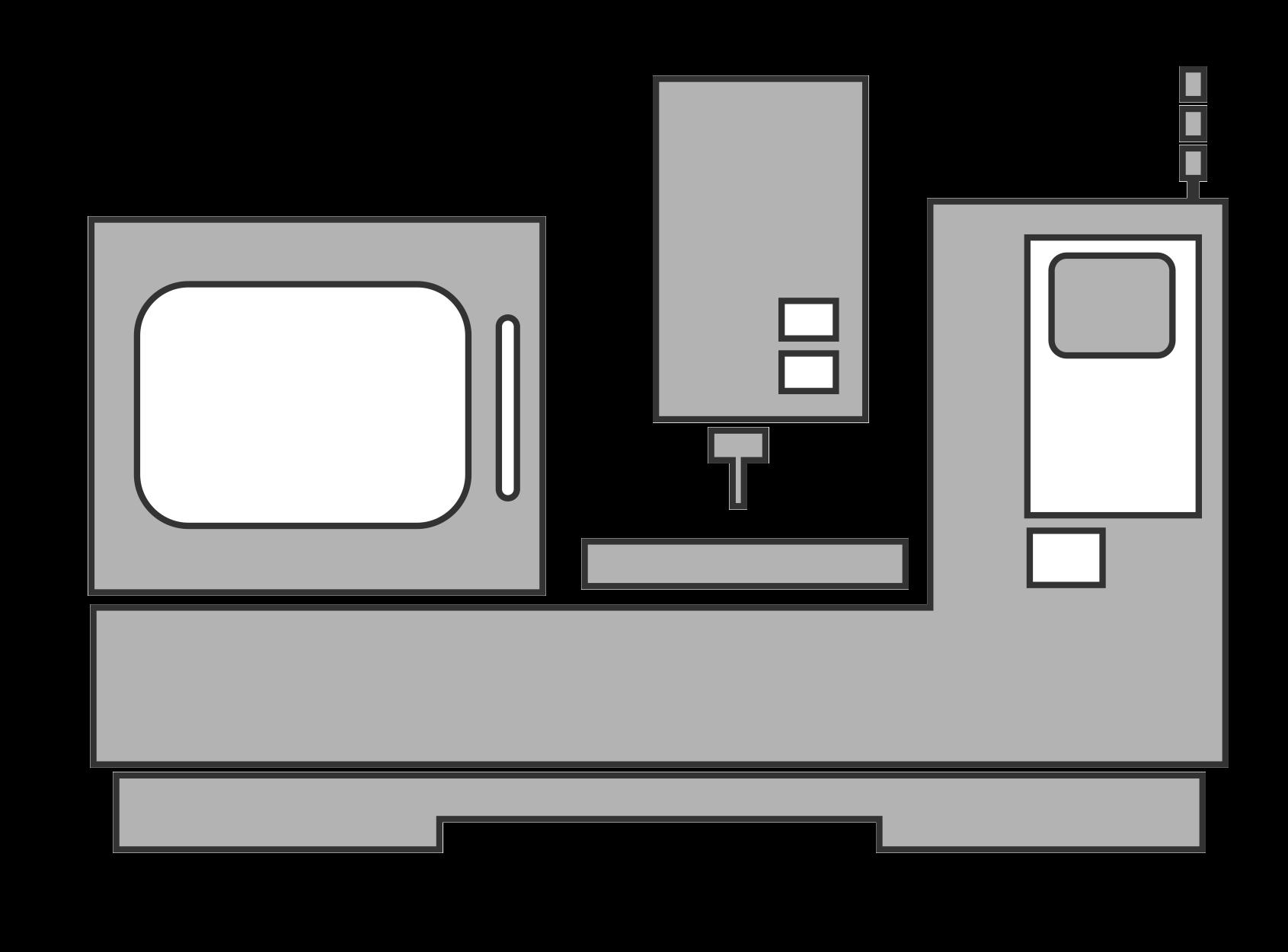 lathe vector grey