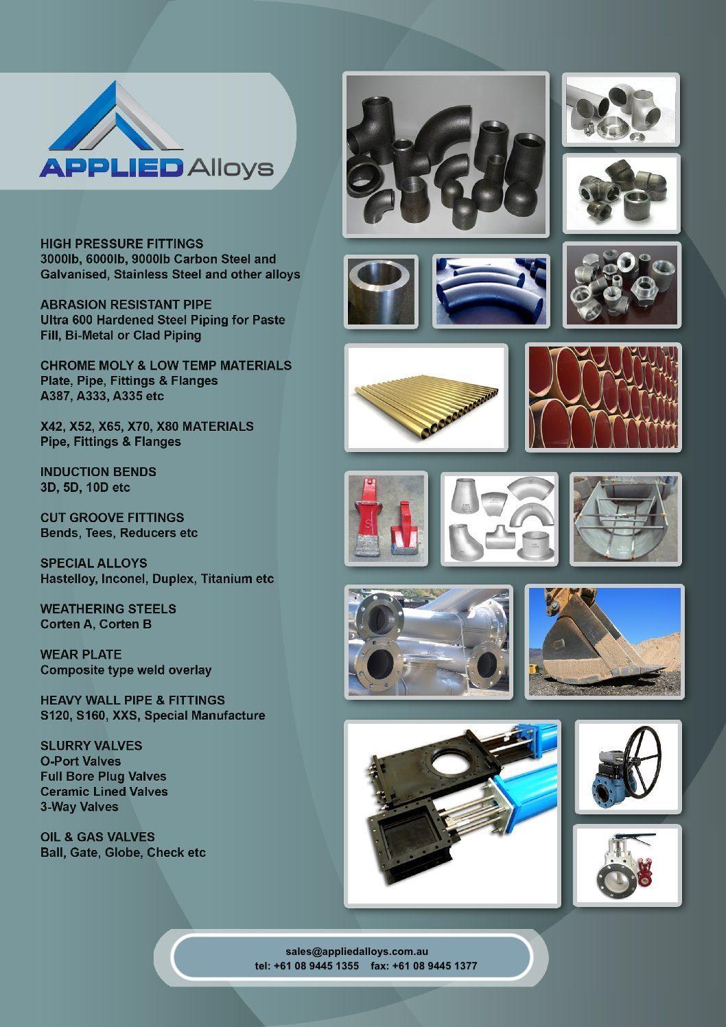 Applied Alloys Flyer