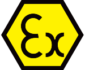 ATEX Explosion Proof logo