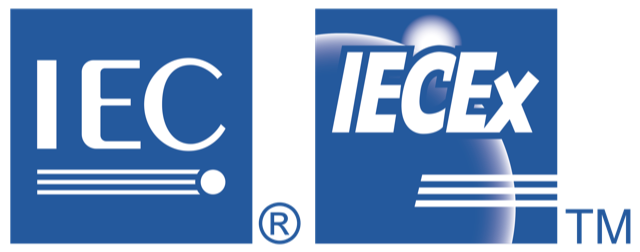 IECEx logo explosion proof