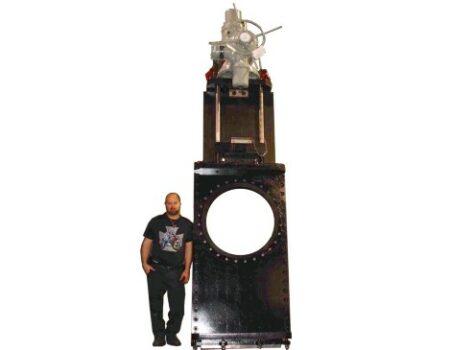 Through Conduit O-Port Valve large bore
